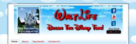 Come check out our exclusive Walt Life car decals! Because it's more than a vacation...it's a way of life...Walt Life!