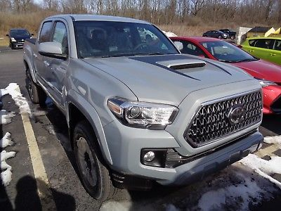 2018 Toyota Tacoma 2018 Double Cab 4x4 3 5l 4wd Stick Cement Toyota Tacoma Tacoma Toyota