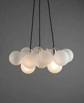 Bubble Chandelier Light Three Point | Bubble chandelier