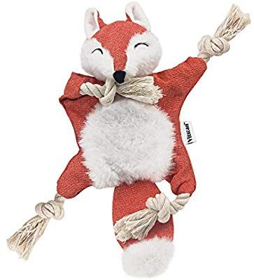 Pet Supplies Vitscan Fox Dog Toy With Squeaker Stuffless Dog
