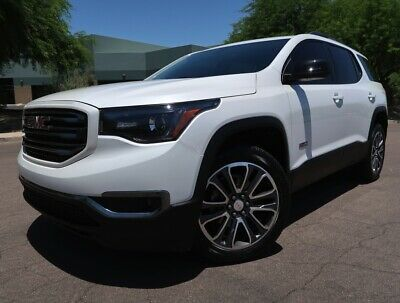 Ebay Advertisement 2019 Gmc Acadia Slt 1 Awd All Terrain Navigation Back Up Cam V6 Awd Leather All Terrain Loaded White 2018 Sl In 2020 Gmc Terrain Gmc Awd