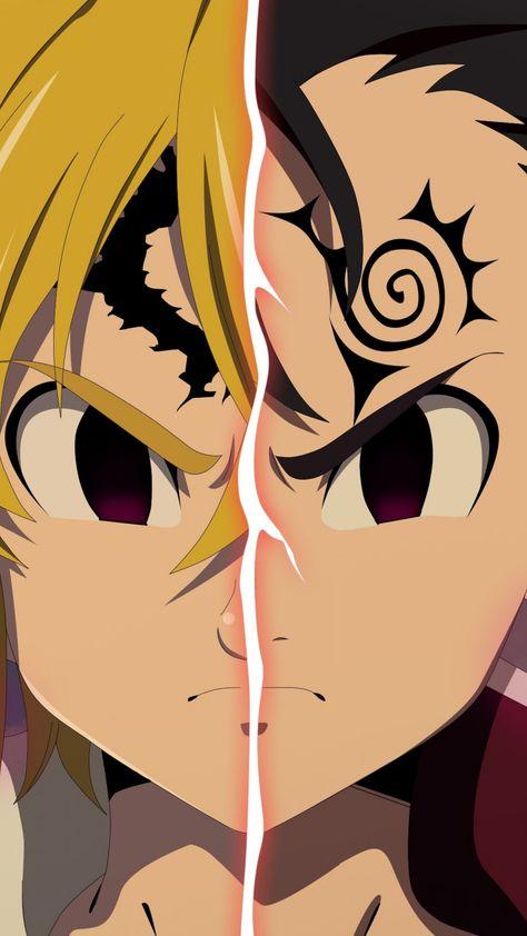 Seven Deadly Sins - nanatsu no taizai - animes - wallpapers iphone - wallpapers android - papeis de parede - nostalgia - manga - desenhos - naruto - dbz- full metal alchemist -! Seven Deadly Sins Anime, 7 Deadly Sins, Otaku Anime, Manga Anime, Anime Art, Anime Kiss, Anime Wolf, Female Anime, Anime Demon