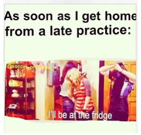 My practices are 2 & hours long and I'm used to 1 hour and for basketball and volleyball. So softball practice makes me so hungry afterward Volleyball Memes, Gymnastics Quotes, Soccer Memes, Volleyball Quotes, Soccer Quotes, Sports Memes, Sport Quotes, Swim Quotes, Olympic Gymnastics