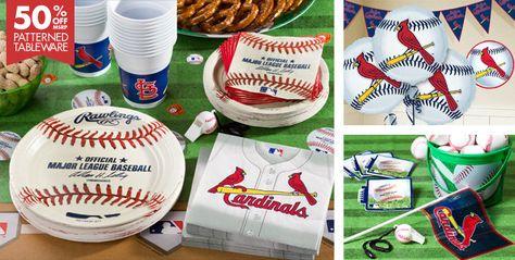 St. Louis Cardinals Party Supplies - Party City