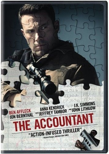 The Accountant New Dvd Eco Amaray Case The Accountant Movie Streaming Movies Free Movies Online