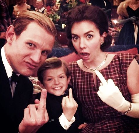A Doctor a day/Matt Smith and Vanessa Kirby