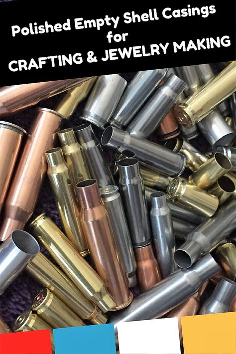 Check out our selection of individually polished spent ammo casings. 224, 556, 9mm, 45acp, 40, 308 and more!