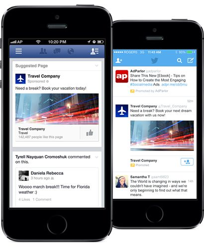 Ad Mockup Generator Adparlor Social Ads Ads Social Advertising