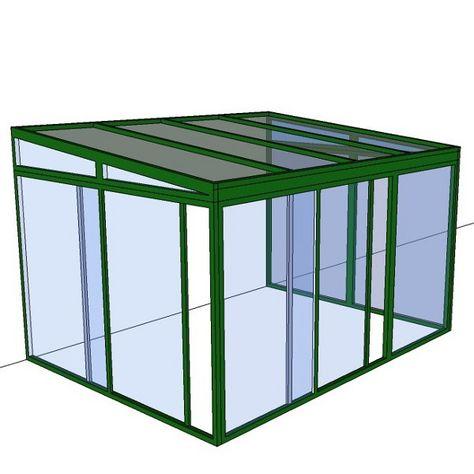 Véranda en Kit - Isolation renforcée - 6 m x 3 m ...