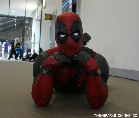 eos Isn't he cute? Deadpool by...