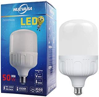 Nuevasa 120w 300w Light Bulb Equivalent 50w Led Bulb Daylight White 6500k With E26 Standard Base 4500 Lum Brainstorming Background Paper Free Accounting Jobs