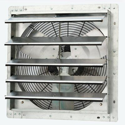 Iliving 1750 Cfm Bathroom Fan With Variable Speed Wall Mounted Exhaust Fan Exhaust Fan Attic Fan