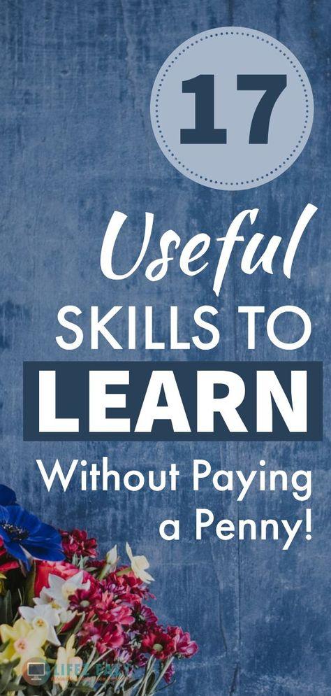 18 Cool & Useful Skills to Learn in 2020