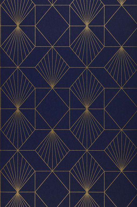 Tapete Maurus Tapeten Der 70er Geometrische Tapete Artdeco Muster Art Deco Hintergrundbild