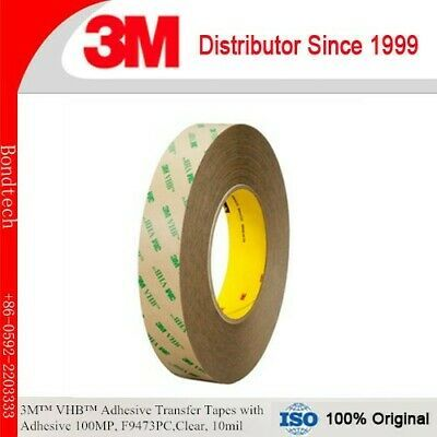 Details About Clearance 3m F9473pc 3 4 X60yd Adhesive Trans Tape Clear 10 Mil In 2020 Adhesive Tape Waterproof Tape