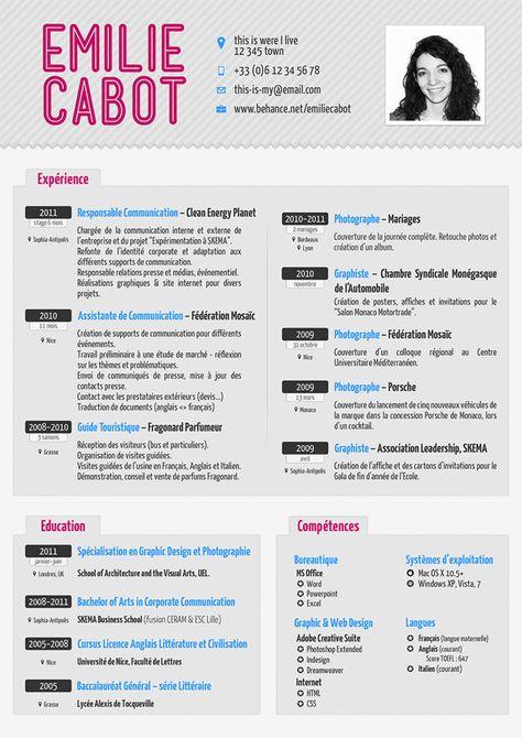 Curriculum Resume Design Creative Creative Resume Resume Design