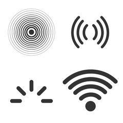 12178632251467184782johnpwarren Antenna And Radio Waves Svg Hi Png 570 599 Radio Wave Linux Mint Radio