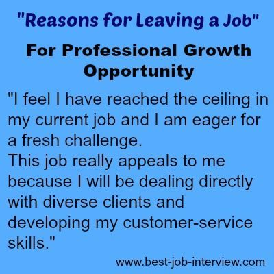 Reason For Leaving On Resume.Acceptable Reasons For Leaving A Job Cheat Sheet Job
