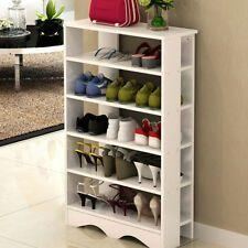 5 Tiers Shelves Shoe Rack Storage Cabinet Footwear Organiser Stand Children Kid Shoe Rack Hanging Shoe Rack Wooden Shoe Storage