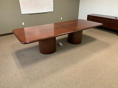 Ad Ebay Url 12ft Office Conference Table Comfortable For 10 People Conference Table Table Modern Conference Table