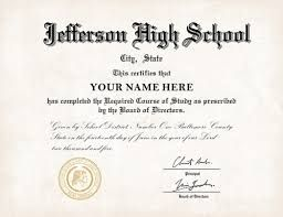 How To Get Real Certificates At Your Doorsteps High School