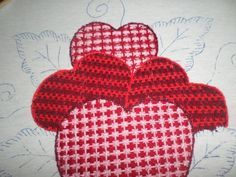 Bordado Fantasia Corazon 2 Bordado Fantasia Corazones