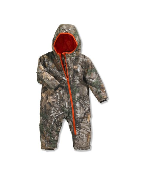 New Infant Carhartt Active Hooded Real Tree Xtra Camo Quilted Warm Winter Jacket