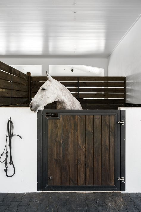Tradition and luxury are benchmark elements of all things equestrian. Horse Barn Plans, Barn House Plans, Dream Stables, Dream Barn, Luxury Horse Barns, Casas Country, Horse Barn Designs, Farm Barn, Horse Stalls