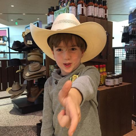 headinghome When in Texas… Big hats and...
