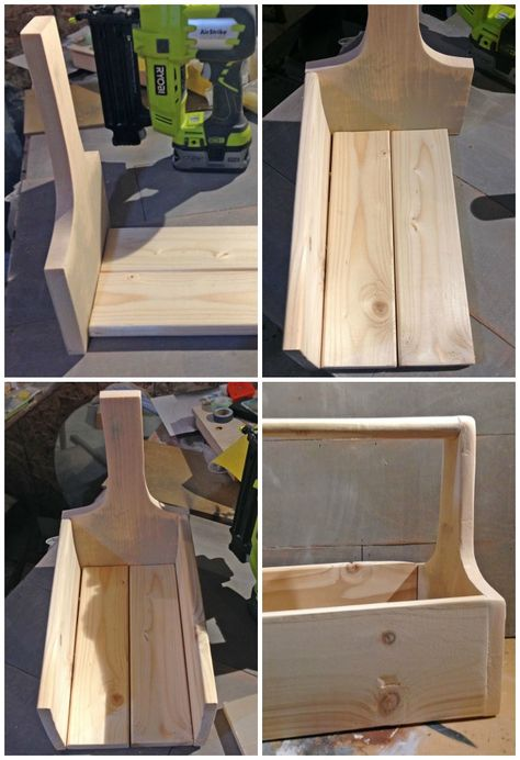 How to assemble a DIY wood caddy