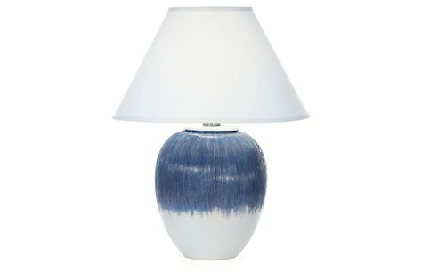 Elsa Table Lamp Matte Blue Ombre Now 239 00 Was 299 00 Table Lamp Lamp One Kings Lane