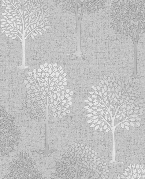 Arthouse Diamond Tree Pattern Wallpaper Forest Leaf Glitter Motif 259001