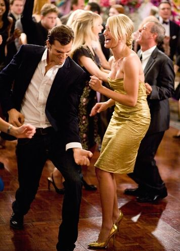 Ashton Kutcher And Cameron Diaz In What Happens In Vegas Dance