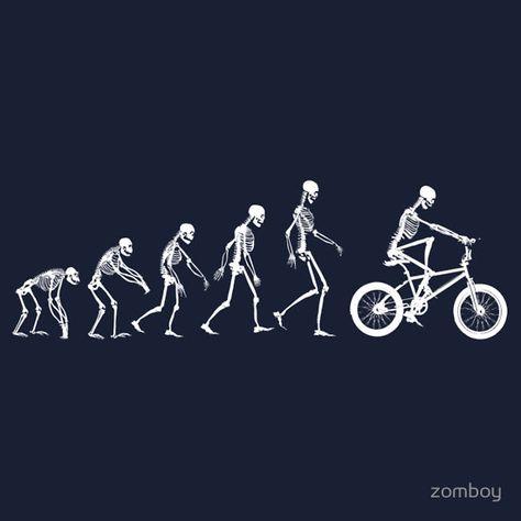 """Evolution BMX"" T-Shirts & Hoodies by zomboy | Redbubble"