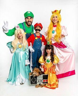 Sponsored)eBay , Mario Bros. Costume Gown Dress Girls