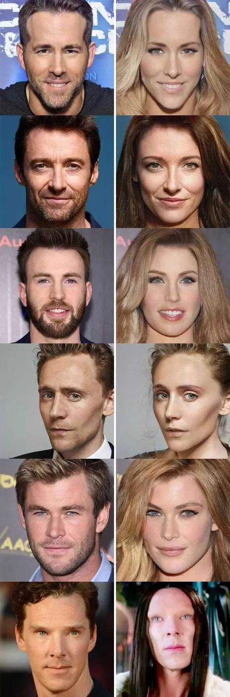 Can we just appreciate how alike Tom Hiddlestin and the girl Tom Hiddlestin
