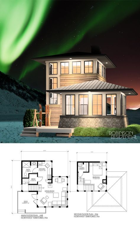 Northwest Territories 704 Robinson Plans House Blueprints House Layouts Tiny House Cabin