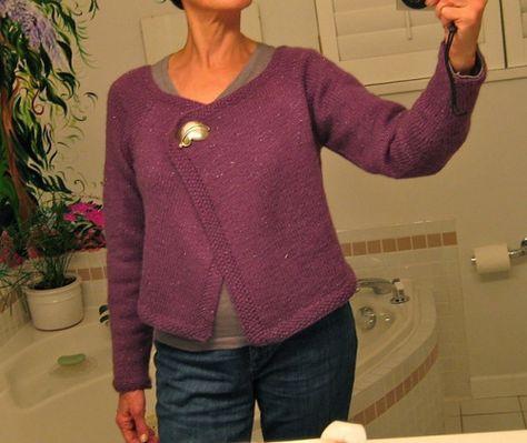 mini cardigan - spiegazioni in italiano - la maglia di marica