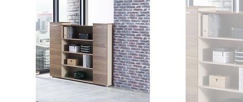 Modern New Still Dolap Birbirinden Sik Ofis Dolap Kitaplik