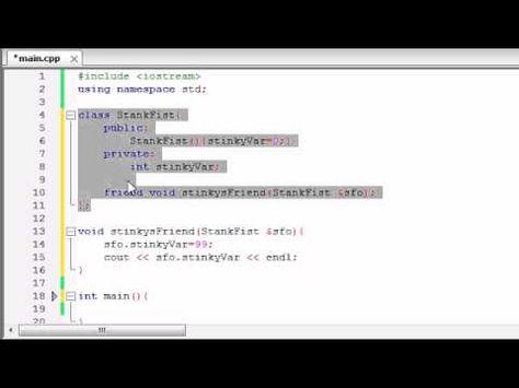 Buckys C++ Programming Tutorials - 48 - friend | C++