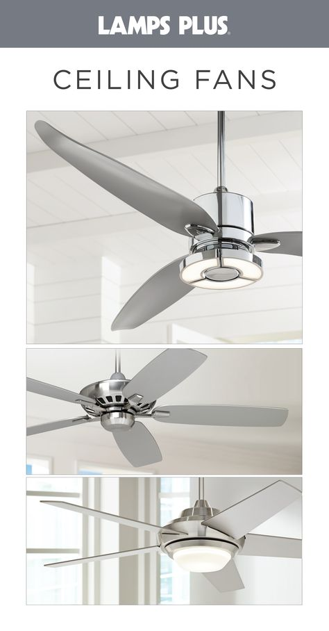 Ceiling Fans - With Lights, Outdoor, Hugger Fans & More | Lamps Plus