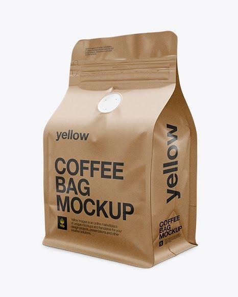 Download Download Psd Mockup Bag Coffee Bag Flat Bottom Kraft Paper Mock Up Mockup Package Packaging Psd Template Psd Bag Mockup Free Psd Mockups Templates Mockup Psd