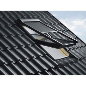 Store Fenetre De Toit Pare Soleil Telecommande Electrique Noir Velux Mml Mk04 Fenetre De Toit Velux Store Velux Velux