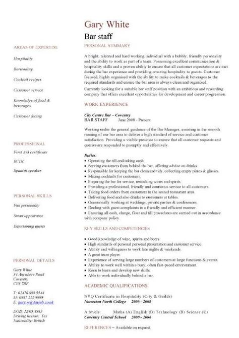 Customer Service Representative Resume - http\/\/wwwresumecareer - exercise science resume