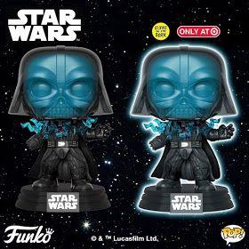 Star Wars Darth Vader Electrocuted Glow GITD Funko Pop Vinyl New in Box