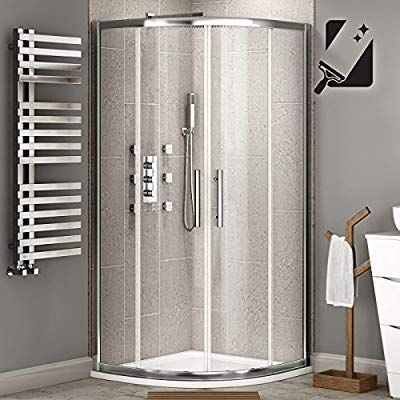 Ibathuk 800 X 800 Mm Luxury Sliding Quadrant Easy Clean Glass Shower Corner Cubicle Door Ibathuk Amazon Co Uk Kitchen Home Shower Enclosure Quadrant Shower Enclosures Quadrant Shower