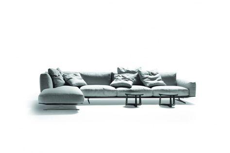 Divani Moderni Pelle Design.Soft Dreams Divano In Pelle Sofa Flexform Divano Pelle
