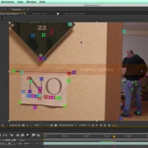 How To Use The 3d Camera Tracker Of After Effects Adobe After