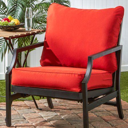 Outdoor Solid Deep Seat Cushion