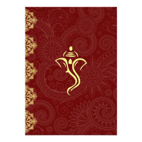 Vinayaka Wedding Invitations 5